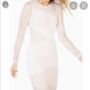 NWT BGBG MaxAzria Mesh Bodycon Dress. Sz Small
